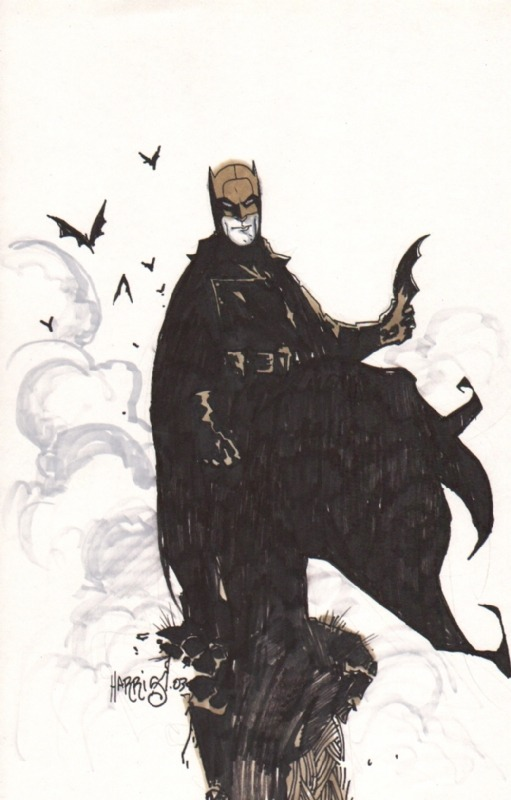 Batman by Tony Harris