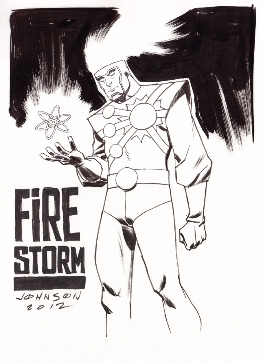 Firestorm by Dave Johnson