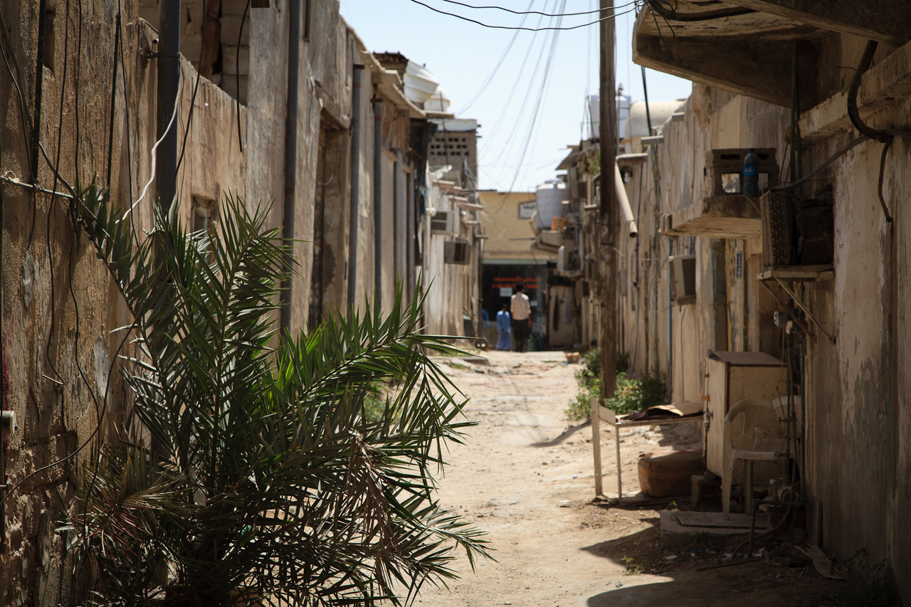 A Musheireb Alley, by Omar Chatriwala. Looking down one of the many passageways of a disappearing city block in Doha, Qatar.