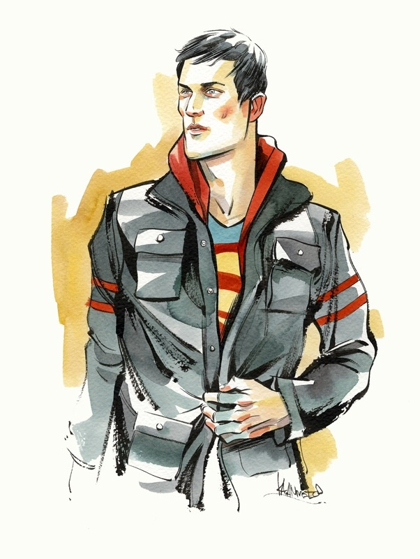 Superboy by Kagan McLeod