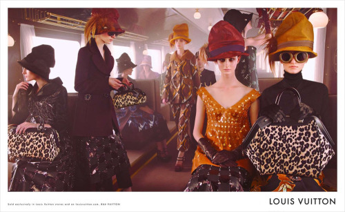 Vogue Paris goes behind the scenes with Marc Jacobs for Louis Vuitton's Fall 2012/13 campaign. In this video exclusive to Vogue Paris, Marc Jacobs, director of Louis Vuitton, explains to us his upcoming campaign shot by the lovely Mr. Steven Meisel. He's struck a chord with me on this one, due to my deep love of early 20th century aesthetic (see also, one of my most loved videogames ever), and my love of trains. Although I have to say I'm not in love with what looks to be the final product, I'm also drawn to the energy and this awesome idea that appeals to my romantic sensibilities.