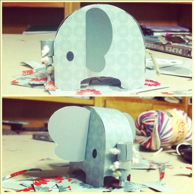 🐘 #paperwonderland (Taken with Instagram)