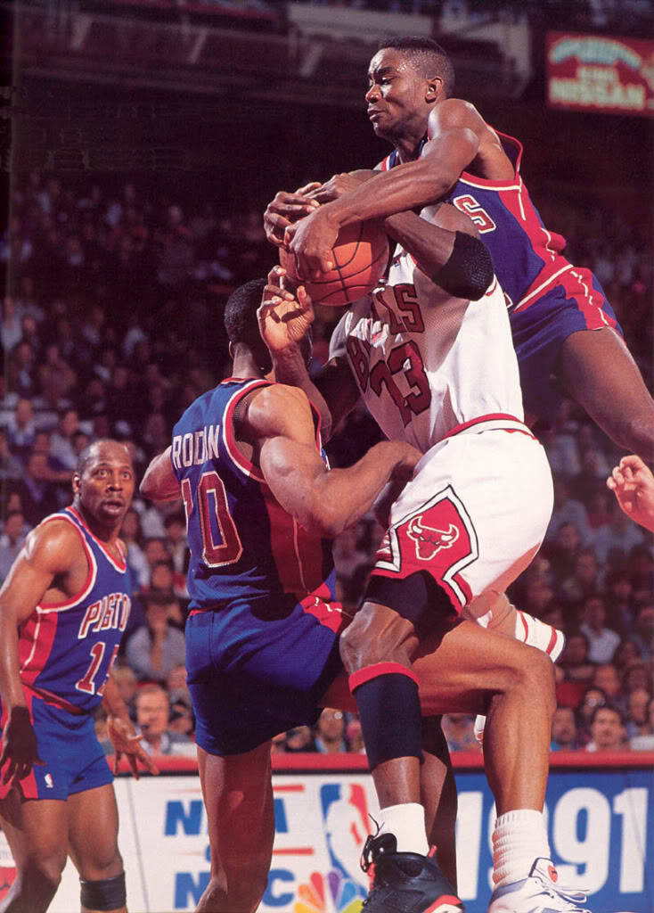 """Isiah was the general (of the Pistons),"" Pippen said. ""He was the guy who would yap at his teammates and say 'Kick them on their ass. Do whatever you have to do.' No, I didn't want him on the Dream Team. … I despised how he played the game."""