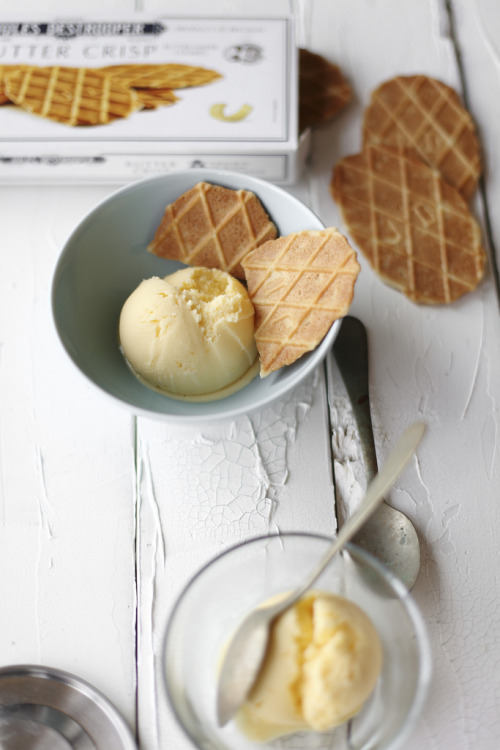 thecakebar:  Lemon & Orange Blossom Ice Cream