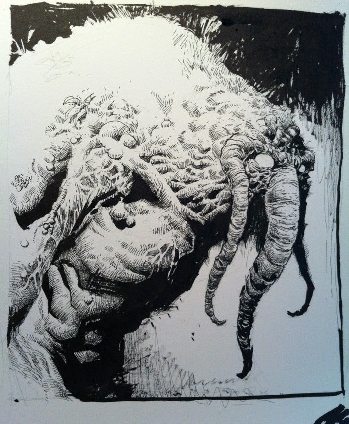 awyeahcomics:  Man-Thing by Jerome Opeña