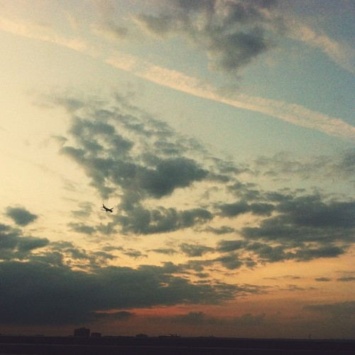 In the sky… (Taken with Instagram at Woodrow Wilson Bridge)