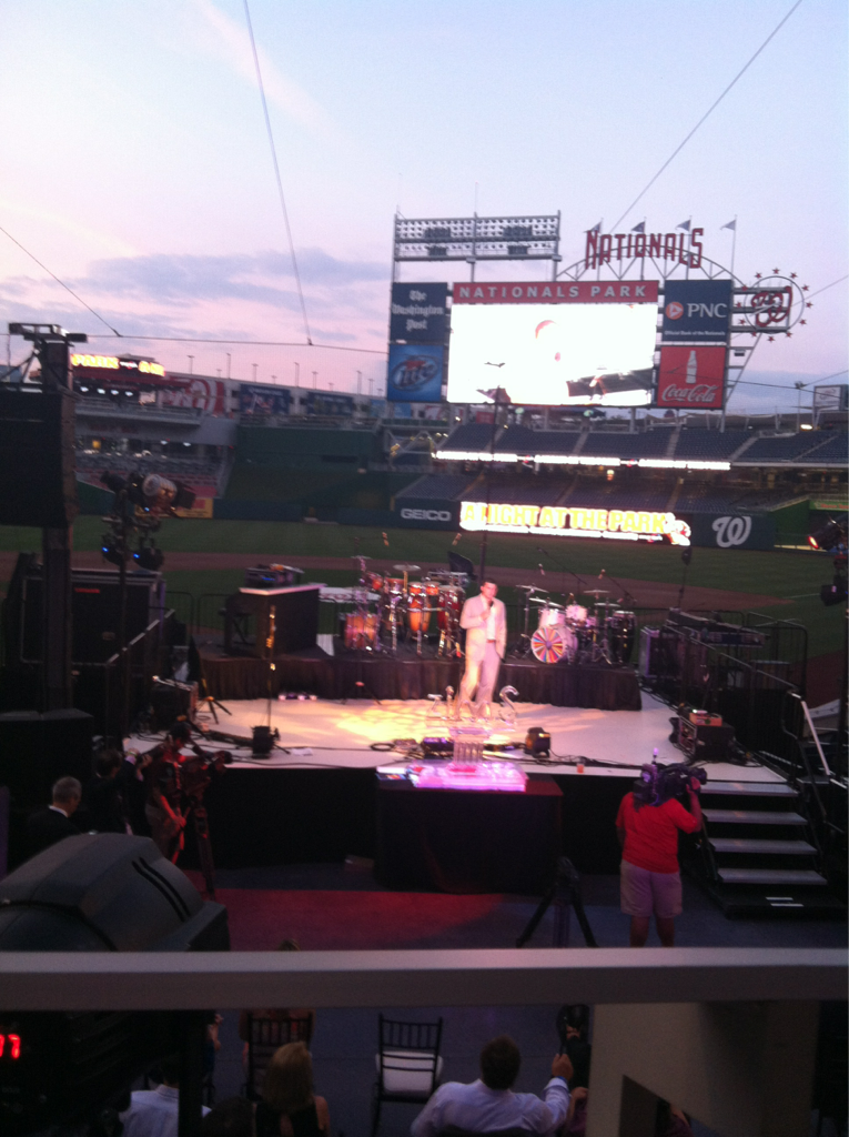 Ryan Zimmerman takes the stage to help bring home a cure for MS.  Amelia for Under Armour: Ultimate Intern, Writer