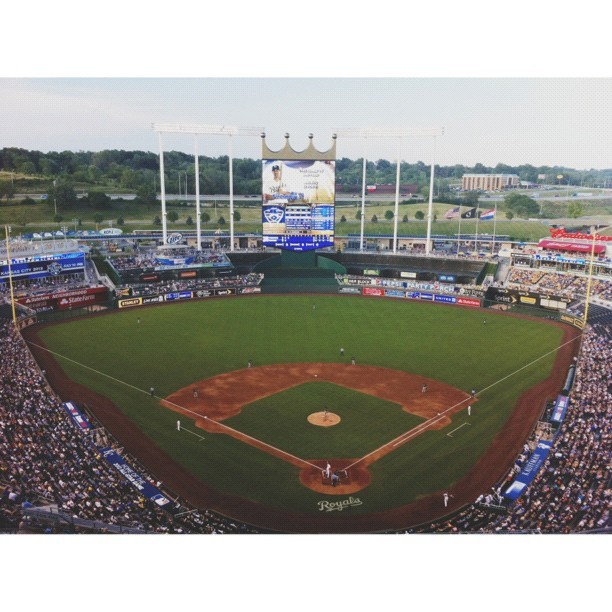 Go to a Royals game. #summerbucketlist #vscocam #happyfamilymovement  (Taken with Instagram)