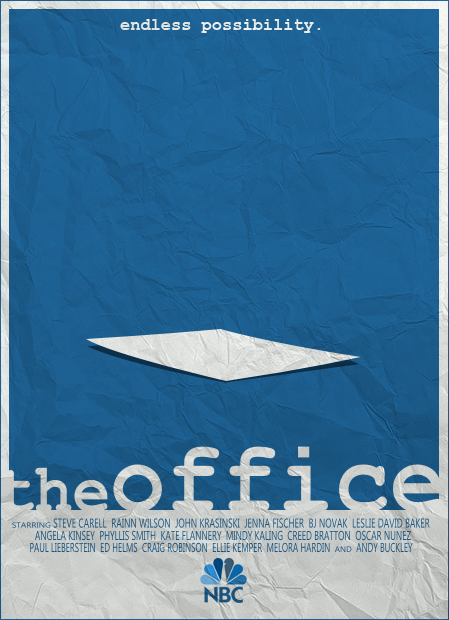 The Office vector poster by SamRAW08.