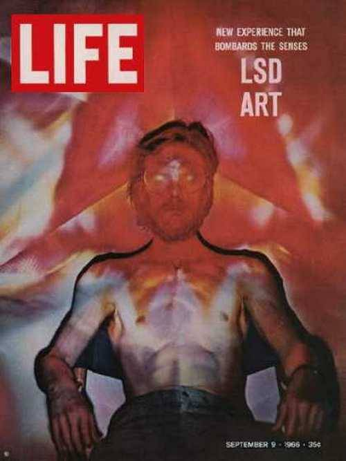 LSD Art, Life magazine, September 1966.