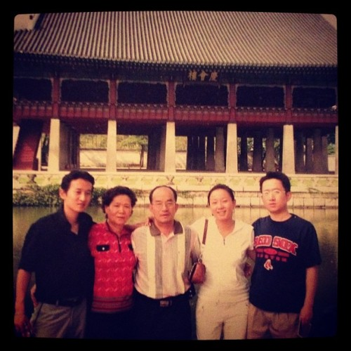 This photo was taken in Seoul, Korea in 2007, the first time I met my twin brother (far left) older brother and mother and father. I was given up due to pure superstition as it was believed it was 'bad luck' to keep boy and girl twins together for fear that they would grow up to like each other. I often wonder who I would have been had I had grown up in my Korean family. Would I still be me? Would I be different or the same? The roots to my tree are still in question, even though I have the answers I longed for for so many years. This is one of the few photographs I have with my family and not just them.