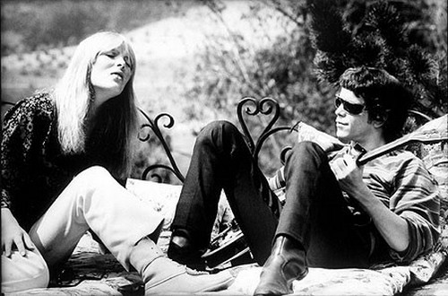 Nico and Lou Reed jam.