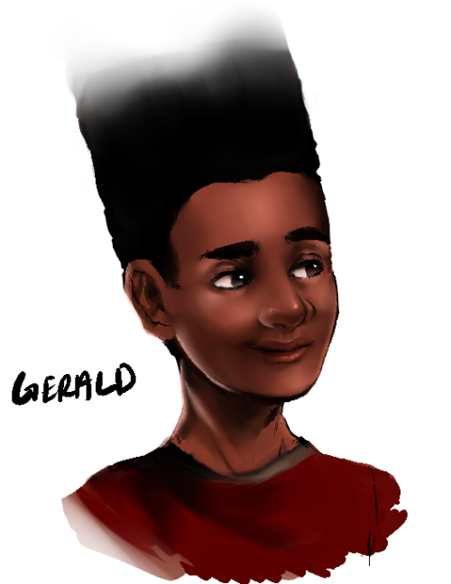 realistic gerald 2edit: the drawing looks better when he faces the right…weird.