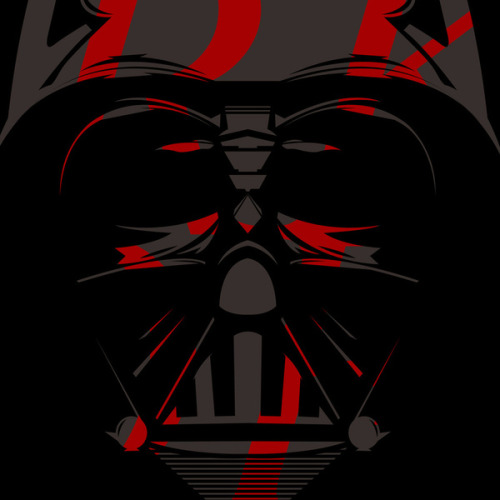 tiefighters:  Vader Illustration by Jordan Tabije