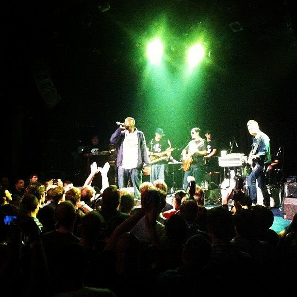 #gza #liquidswords  (Taken with Instagram at Music Hall of Williamsburg)