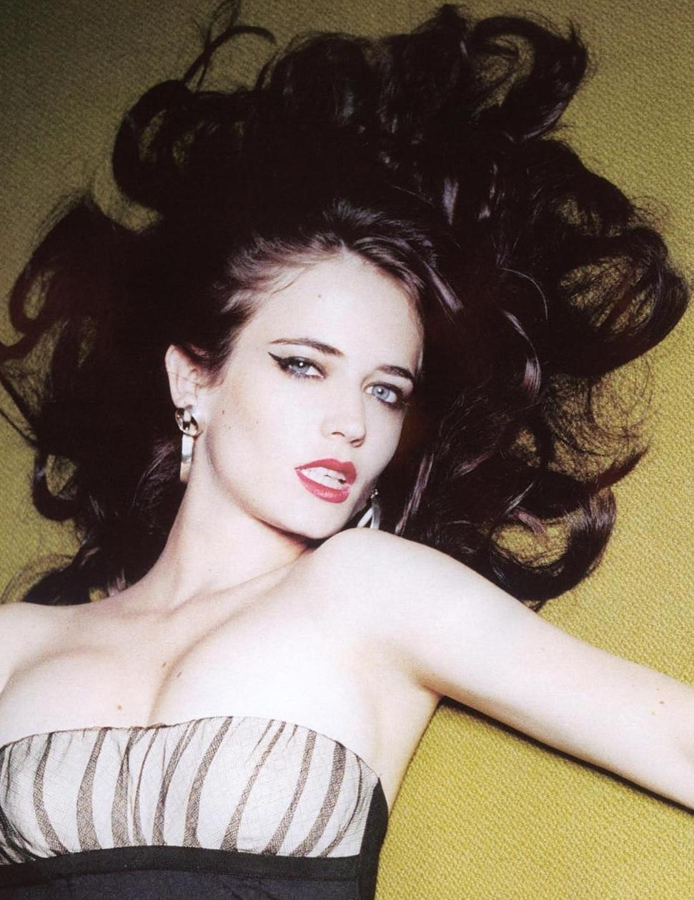 Eva Green shot by Ellen von Unwerth for Arena UK, 12/06