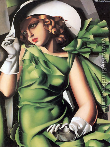 Tamara de Lempicka Young Lady with Gloves, 1930