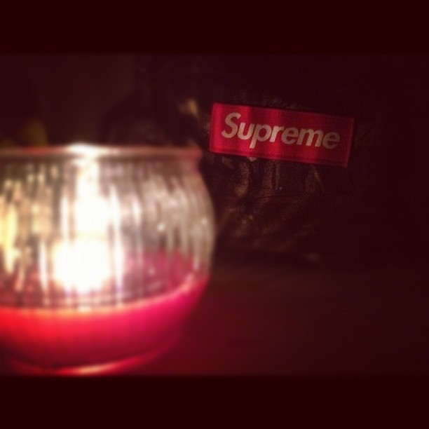 Hype by candle light  (Taken with Instagram)