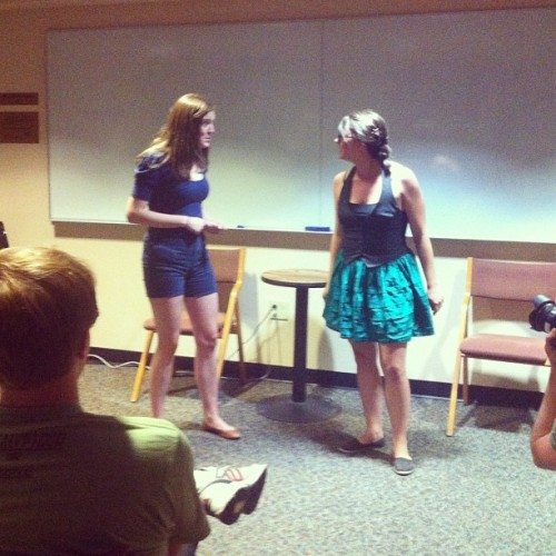 Watching #cuboulder comedy team #Sideeffects. (Taken with Instagram at University Memorial Center (UMC))