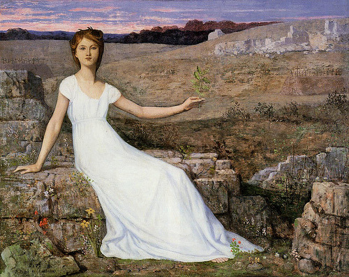 Hope Pierre Puvis de Chavannes