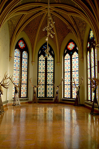 Hall of Antlers.