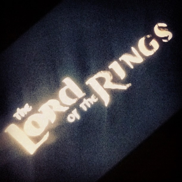 The Return Of The King. #great#movie#bored#night (Taken with Instagram)