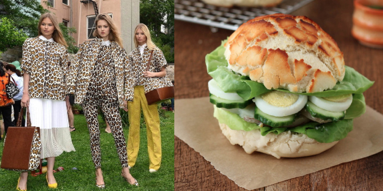 Stella McCartney Resort 2013 garden party vWild bread bakingEveryone loves a garden party