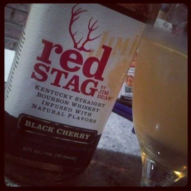 For National #Bourbon Day - Red Stag, lemon juice, simple syrup (Taken with Instagram)