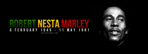 Robert Nesta Marley Facebook Cover