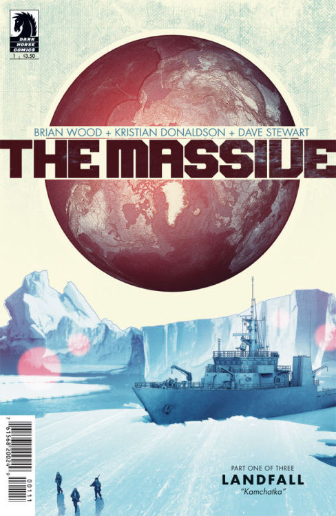 The Massive #1, June 2012, written by Brian Wood, penciled by Kristian Donaldson