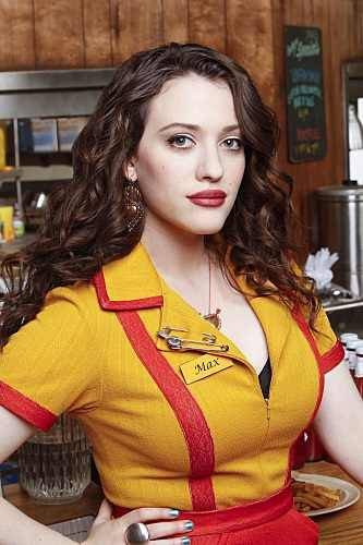 iseebigbooty:  roundrears:  curvy Kat Dennings from 2 Broke Girls…  To be honest this chic makes a dick hard.
