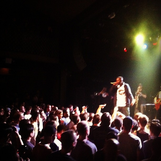 #gza #liquidswords #brooklyn  (Taken with Instagram at Music Hall of Williamsburg)