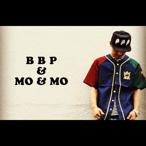Mo'&Mo' x BBP baseball shirts came out… #moandmo #bbpbx (Taken with Instagram)