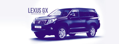 Lexus GX Facebook Cover