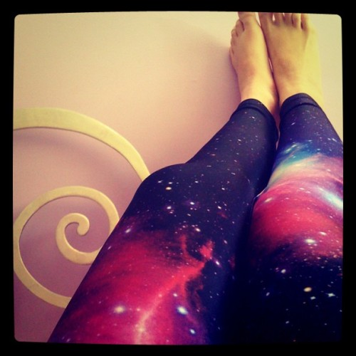 New leggings :D #galaxy #Saturn #space #trend #galaxyleggings #amazing #happy! (Taken with Instagram)