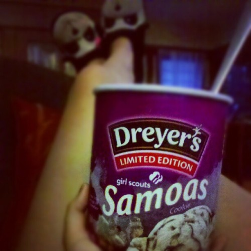 Been eating ice cream for the past hour.yolo! #icecreamlife (Taken with Instagram)