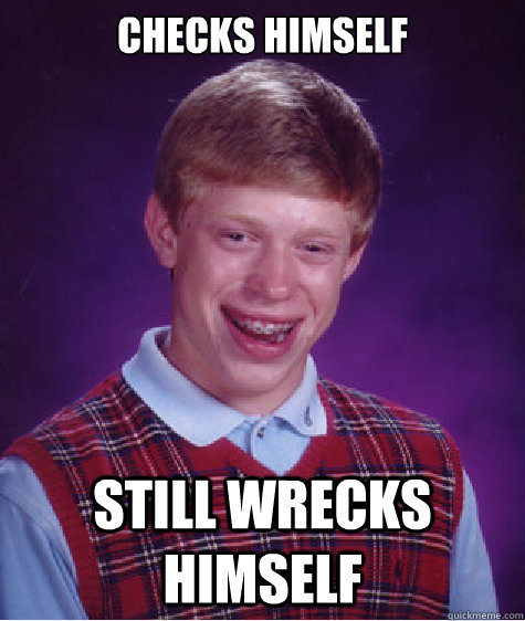 thedailymeme:  Bad Luck Brian