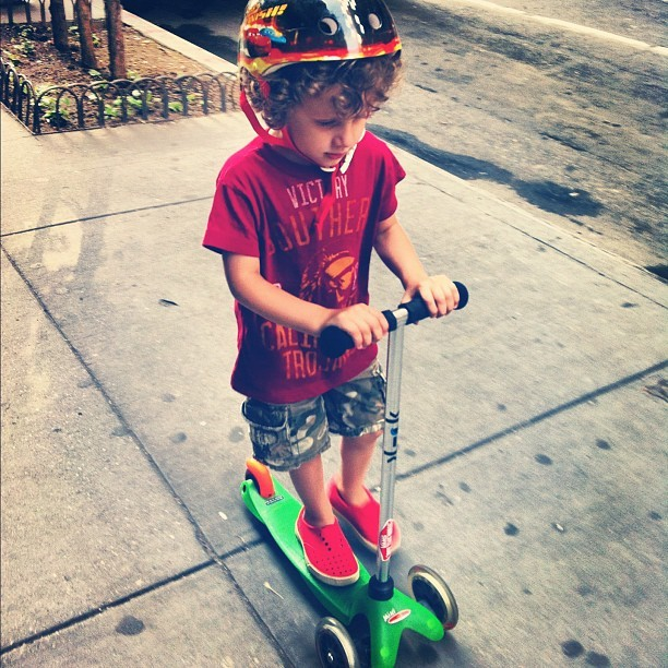 Scooting Sam (Taken with Instagram)