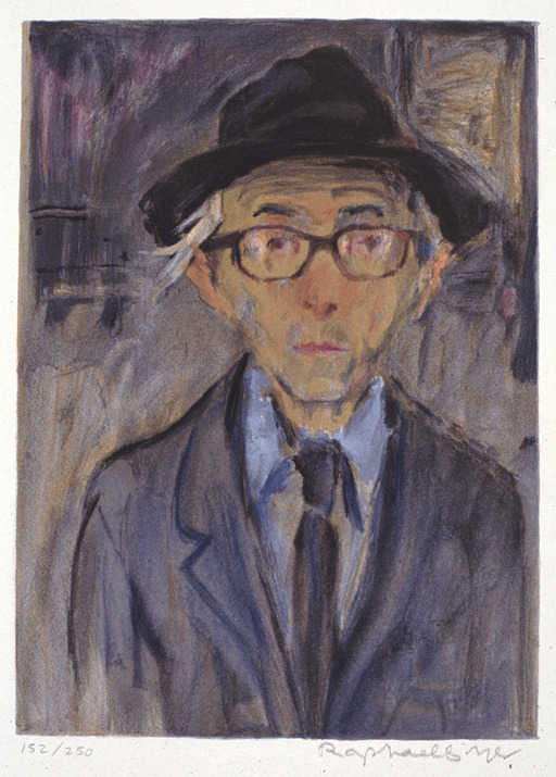 cavetocanvas:  Raphael Soyer, Self Portrait