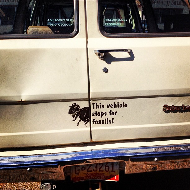 the fossil van (Taken with Instagram)