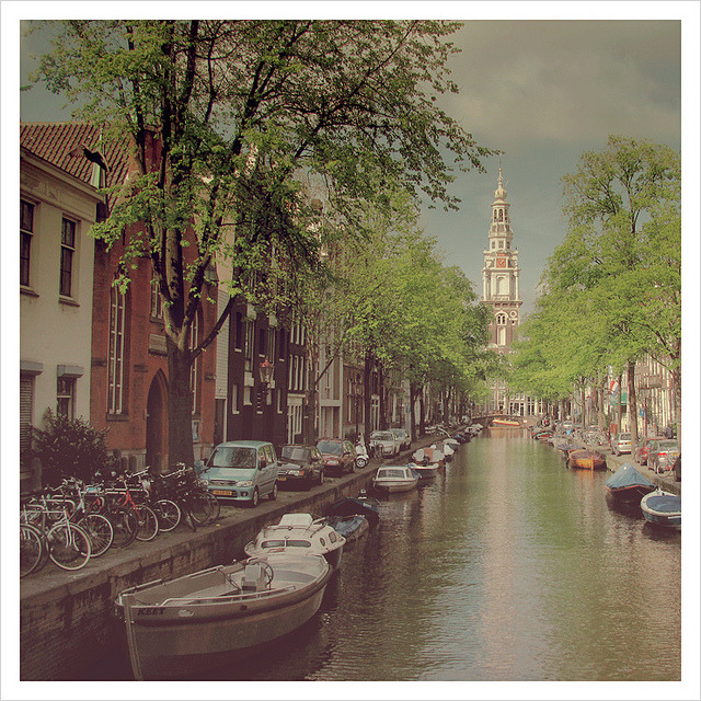 | ♕ |  Canal in summer - Amsterdam  | by © maяtina