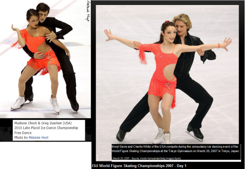 iceskaterforlife:  :D im guessing meryl loned her dress to [past] training mate :D