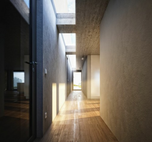 homedesigning:  Corridor Lighting
