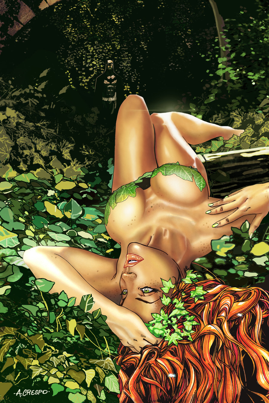 thehappysorceress:  A Bed of Ivy by Antonio Crespo