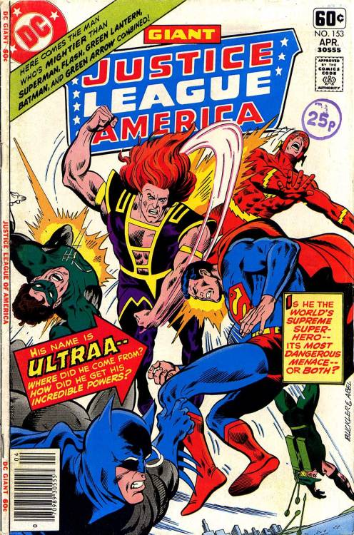 Justice League Of America #153, April 1978, cover by Rich Buckler and Jack Abel