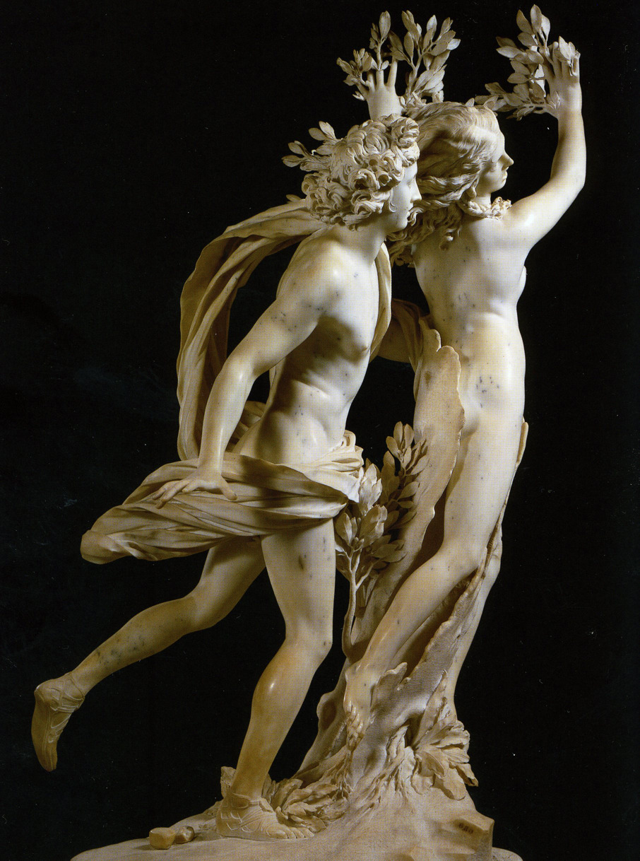 Gian Lorenzo Bernini, Apollo and Daphne, 1622-1625, Marble, Galleria Borghese, Rome