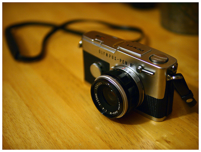 PEN FT & E.Zuiko 25mm 1:4 by daveelmore on Flickr.