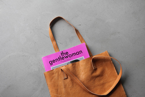 the gentle woman in the bag