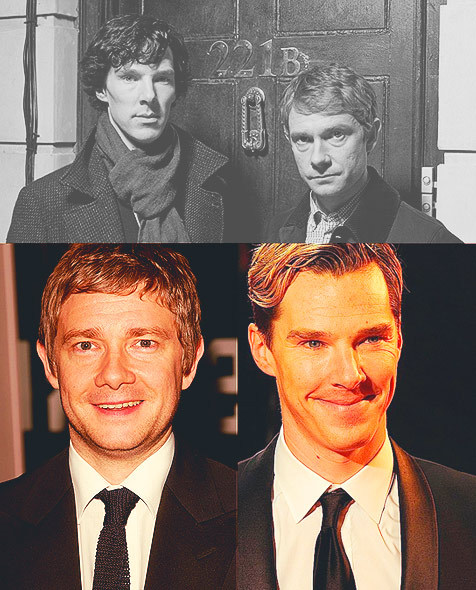 5 Favorite Co-Stars | Benedict Cumberbatch & Martin Freeman