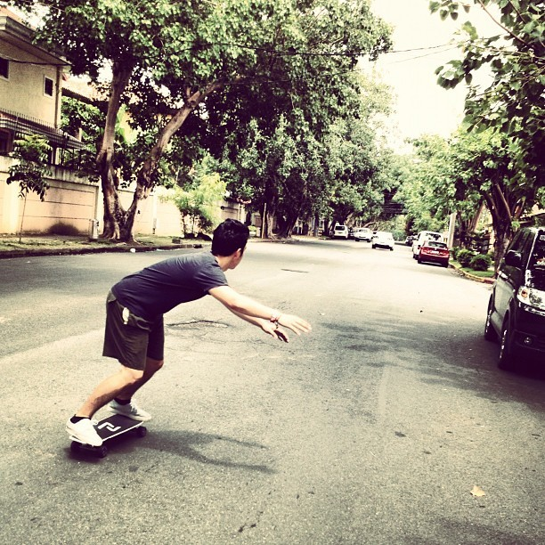 Skate session at magallanes (Taken with Instagram)